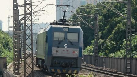 [火车]HXD1C-6105[51510] 通过 京广线 广铁新开铺上行