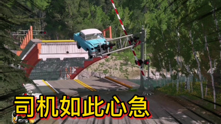 车祸模拟器196 是什么事情让司机如此心急 不顾危险开车冲卡