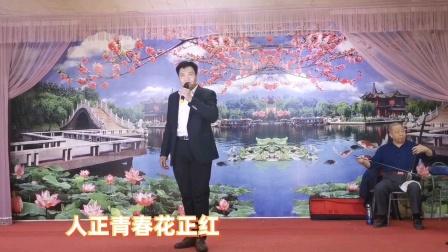 """李广辉演唱河北梆子《宝莲灯》选段""""十五年""""伴奏安康剧社乐队"""