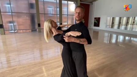 标准舞教学2020.7.7Evaldas&Ieva