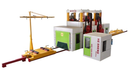 SDS-1600-50x2 隧道式多机组联合切石机
