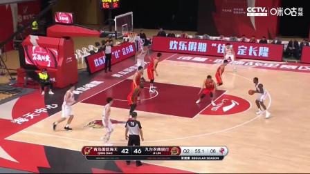 林韦翰16分 姜伟泽14+5 亚当斯36+8+10 青岛大胜吉林