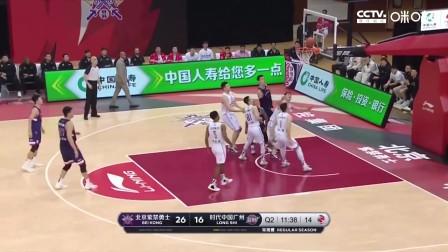 北控103-114不敌广州 王少杰关键追平比分 郭凯杀死比赛