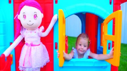 儿童亲子互动,小萝莉和小宝宝的日常趣事!太有意思了