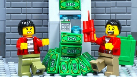 乐高ATM抢劫监狱打破