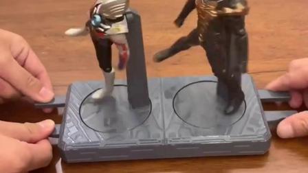 奥特曼对战小怪兽,看看最后谁是赢家