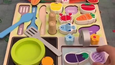 宝宝仿真厨房玩具,锻炼动手和认知能力