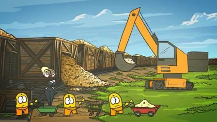 《倒霉的坦克兵系列》钱多到用铁锹铲火车都装不下——幻想的生活