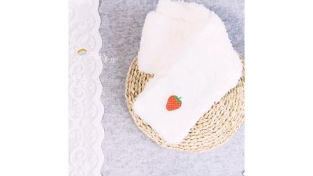 【芸妈手作A183】绒绒线成人儿童围巾 钩针毛线手工Idiy编织新手视频教程