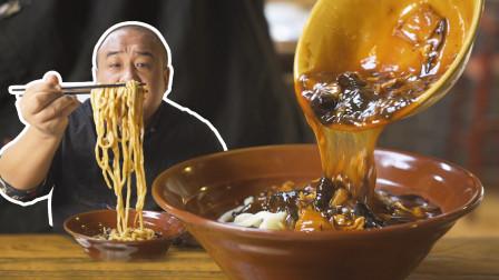 锅贴130元一斤!雍和宫边上的京菜馆,打卤面每天卖300碗?
