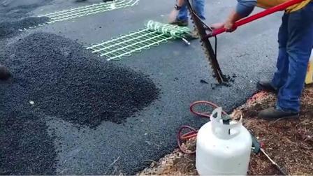 可以给公路加热的电热毯,你见过吗?