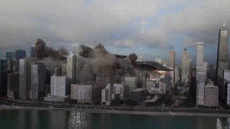 芝加哥被入侵,火海一片,超强打斗,燃爆了