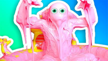 作死老外用泡泡糖来泡澡,还演起了丧尸,那身上的液体咋洗掉呢?