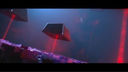 【C4D教程】雷蛇键盘产品商业项目-第一个镜头