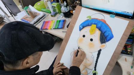 画一个可爱小宝