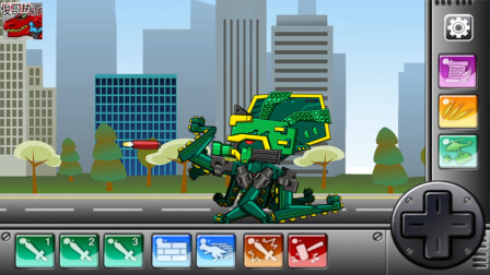 组装机械 章鱼龙 游戏解说 第11章 章鱼龙