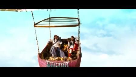 古天乐带女朋友坐热气球,配上女儿红和水果,女友:好罗曼蒂克!