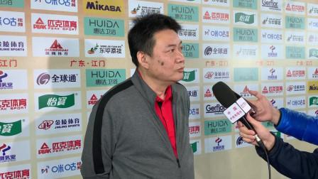蔡斌:我们的心态和拼劲放得比较好 对手很强大 我们一分分来