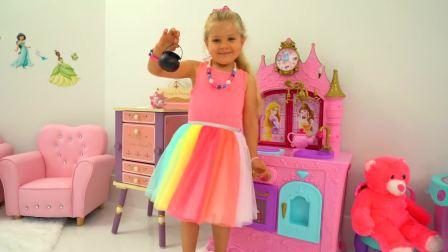 美国时尚儿童,小萝莉的新玩具,来看看吧