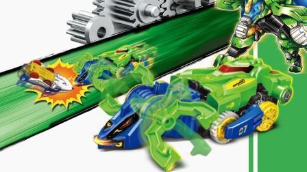 奥迪双钻激甲决斗战车升级版脉冲超星