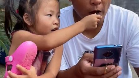 少儿益智:喂爸爸,吃葡萄