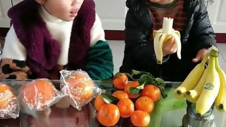 少儿益智:小姐姐,去卖水果,小弟弟,快吃赔本了