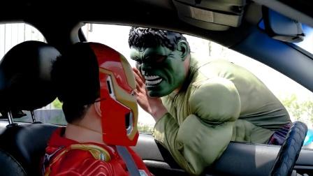 蜘蛛侠:钢铁侠在郊外遇到有人求助!