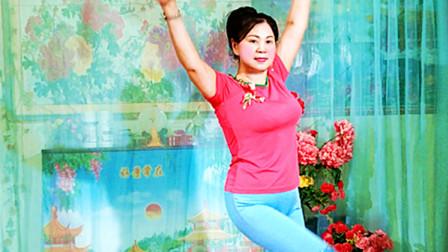 琼花舞魅:原创即兴抒情清跳秀:点歌的人广场舞版