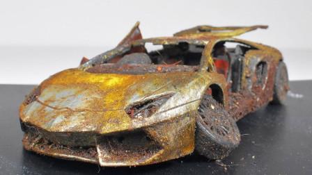 小伙捡到一辆废弃豪车,翻新后仿若新生,再拿出去卖都值了!