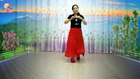 民族风格舞蹈《嘀咯调》简单易学