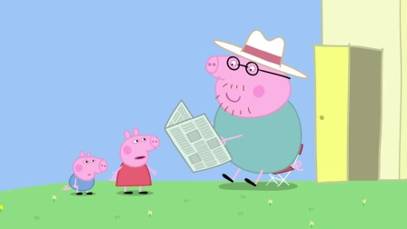 小猪佩奇:佩奇很无聊,幸好苏西找来找她玩,这下有意思了