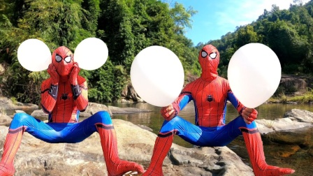 蜘蛛侠:蜘蛛侠用耳朵吹起来气球,你信吗?反正我是不信!