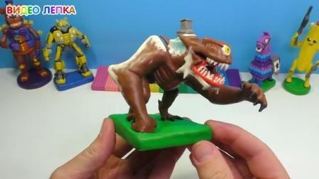 手办:用橡皮泥手工制作一个游戏中的怪兽,你认识吗?