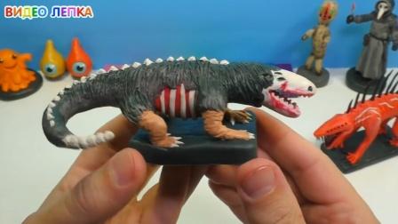 手办:用橡皮泥手工制作原始恐龙,大神科普下这是什么龙呢?