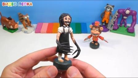 手办:用橡皮泥制作阿加莎,这个类似魔鬼一样的怪物你认识吗?