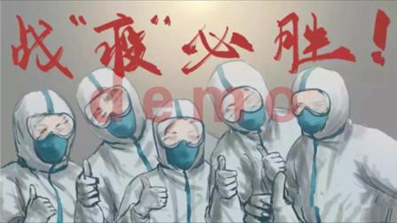 感人舞蹈背景《重生》医护工作者奋战前线led背景视频