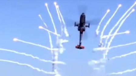 直升机空中秀性能!
