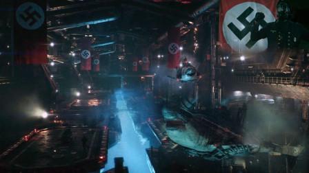 纳粹在北极建立秘密基地 研发黑科技武器僵尸鲨鱼《纳粹终极武器》