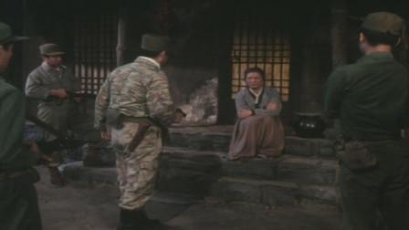 1981年歌剧电影《同心结》曲目,伪军抓捕志愿军战士,老婆婆掩护