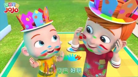 超级宝贝JOJO:两个小可爱想要妈妈陪,不想洗澡