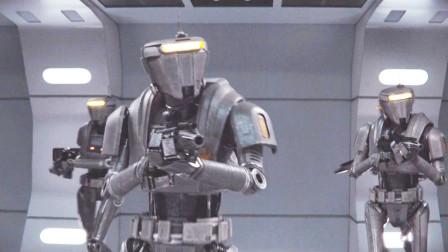 未来世界,人类将监狱建在太空,全由机器人看管,犯人永远逃不出去