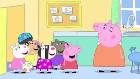 小猪佩奇:这帮小孩太过分,一起欺负佩奇,话多怎么了