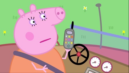 小猪佩奇:猪爸爸就是个路痴,地图看不懂,真迷路了