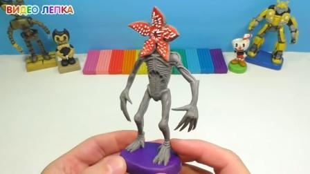 手办:用橡皮泥手工制作一个食人花怪物,这是哪个游戏里的人物呢