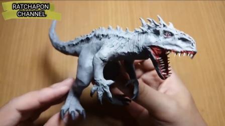 手办:用橡皮泥制作霸王龙,这就是曾经统治整个地球的生物啊