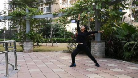 杨丽萍第二套第七节形体拉仲