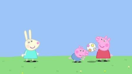 小猪佩奇:佩奇太搞笑了,对影子这么好奇,太单纯了