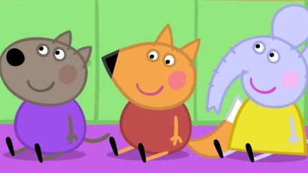 小猪佩奇:乔治这是喜新厌旧了吗,大恐龙不要,改成火箭了