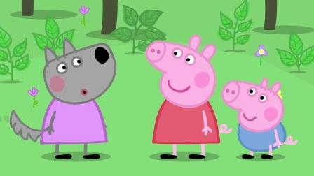 小猪佩奇:猪爸爸又被插队了,女士优先,他还得继续等船