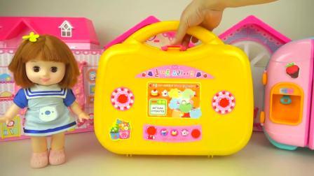 儿童亲子互动,婴儿娃娃的食物厨房,快来看看吧